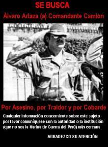 Búsqueda de Comandante Camión - Comisión de La Verdad y Reconciliación