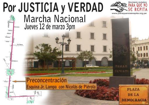 Marchar al Palacio de Justicia