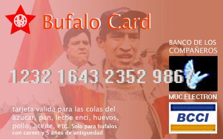 Bufalo Card