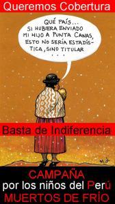 campaña por los niños del perú