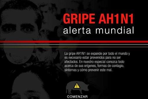 El Comercio (Perú): AH1N1 - Alerta Mundial
