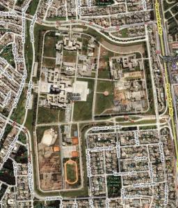 El Pentagonito desde Google Earth