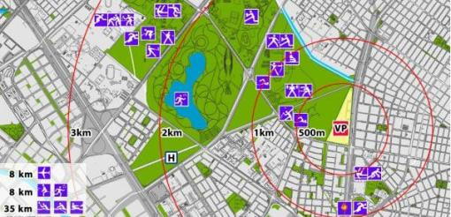 Mapa de Eventos en Bogota 2015
