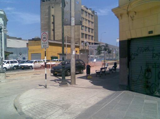 Paradero Nicolás de Pierola - Tramo Centro